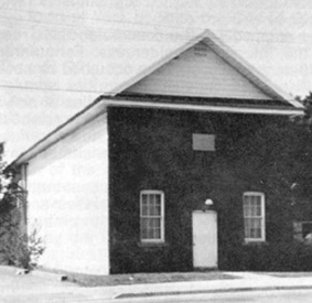 Original Lodge Building Vaughn